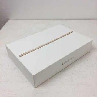 iPad miniの箱と中身
