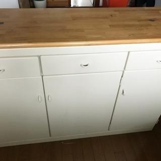 カウンターテーブル/キッチン収納