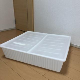 IKEA ベッド 下 収納ケース 77×70