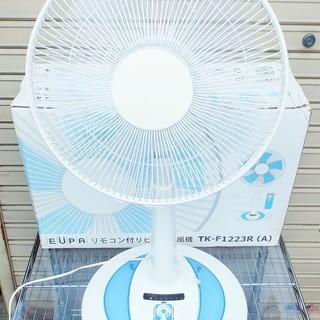 ユーパ EUPA TK-F1223R リモコン付 リビング扇風機◆...