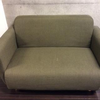 フランフラン(Francfranc)チック ソファー(グリーン、緑...