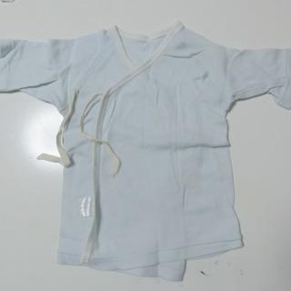 ベビー男の子、短肌着(長袖)×2着