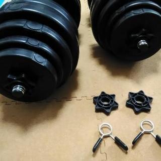 ダンベル 30kg 2個セット 【計 60kg】