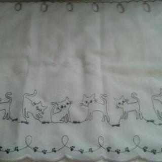 ネコ カフェカーテン