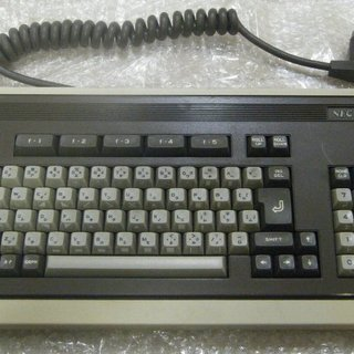 【取引交渉中】NEC製のパソコン PC-8801(初代機)のキーボ...