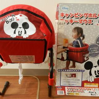 (値下げしました!)キャンピングホルダー・ミッキーマウス 新品同様