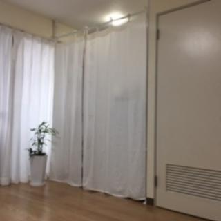 平安伸銅工業 突っ張りカーテン用ポール ホワイト 耐荷重10kg ...