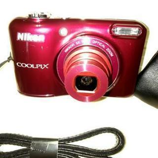 Nikon COOLPIX L 28レッド中古品