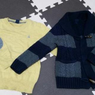gap セーターと上着