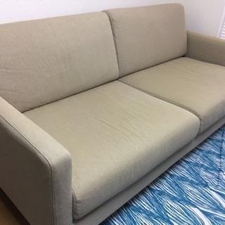 無印良品 ソファー スリムアームソファー 2.5シーター