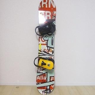 スノーボード headの板、Fluxのビィンディングセット