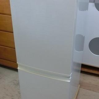 SHARP 2ドア 冷凍冷蔵庫 SJ-14X 2013年製 中古品...
