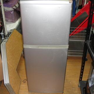 (UE008)2ドア冷凍冷蔵庫 サンヨー SR-141G(SB)