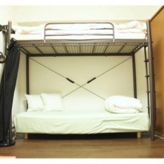 無印良品 セミシングルベッド + 布団セット