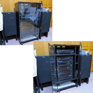 SONY ソニー LBT-V750 システムコンポ スピーカー セ...