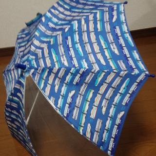 乗り物柄の傘