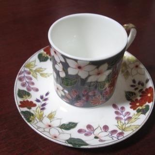 NARUMI  デミコーヒーカップ&ソーサー 1客