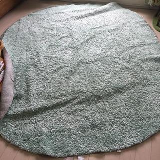 大きめ!楕円形ラグカーペット 絨毯