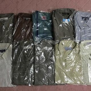 紳士カジュアルシャツ10着(長袖) だいたいLサイズ