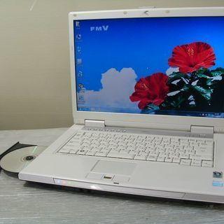 富士通パソコン 人気のNF70X DVDマルチ Windows10