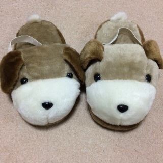 犬のスリッパ 美品【購入者決定】