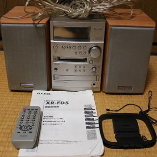 【ジャンク】【商談中】AIWA XR-FD5高音質ミニコンポ