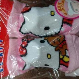 キティちゃん 新生児靴下