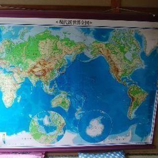 世界地図特大地図