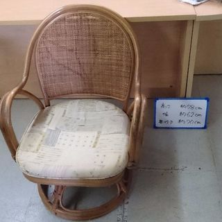 籠回転椅子