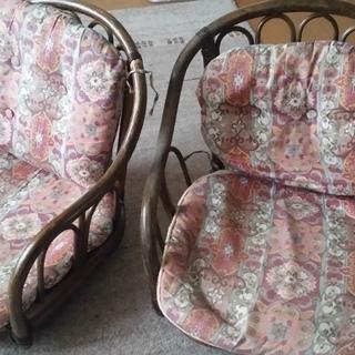 お洒落 回転座椅子 2組