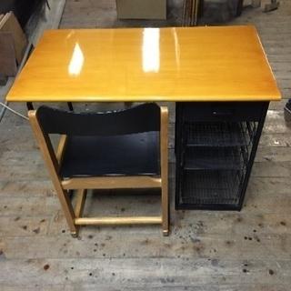机と椅子セット【中古品】