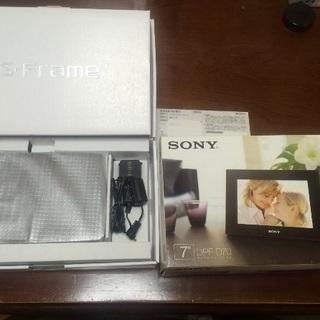 【家電】SONY デジタルフォトフレーム(DPF-D70)※新品 未使用