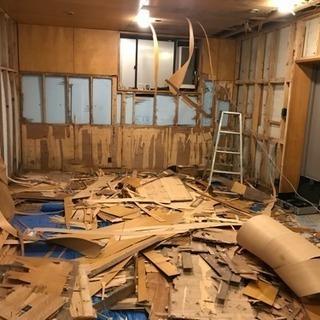 室内壁天井ベニヤ剥がし作業員募集