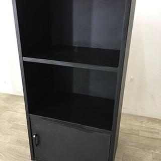 101302 【持ち帰り特価】☆カラーBOX扉つき ブラック☆