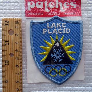 米国ー冬季オリンピック記念の刺繍ワッペン