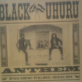 BLACK UHURU / ANTHEM     LP