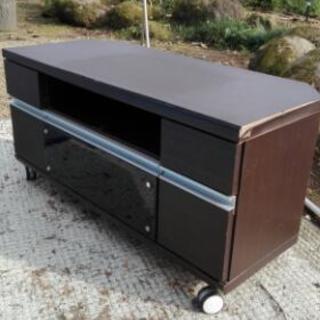 テレビ台★コーナー用、木製中古品