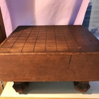 古い将棋盤、厚さ11cm、木の材質不明