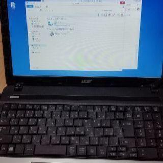 エイサーA4ノートパソコン core i5美品!