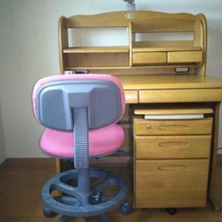 札幌 学習机と椅子無料