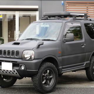 スズキ ジムニー660 KANSAI 4WD 艶消し黒 リフトU...