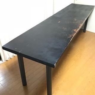 大きい一枚板の机【直接引取のみ】