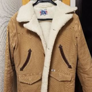 ストーミーブルー中綿コート