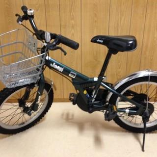 【美品】子供用 自転車 16インチ こども ジープ Jeep 補助輪付き