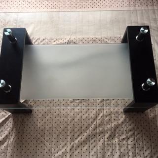 ガラステーブル 黒