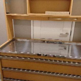 ディノス キッチンカウンター 食器棚