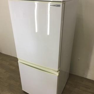 072799 【訳アリ特価】☆2ドア冷蔵庫 SHARP ホワイト☆