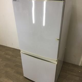 050815 【訳アリ特価】☆2ドア冷蔵庫 シャープ 137L☆