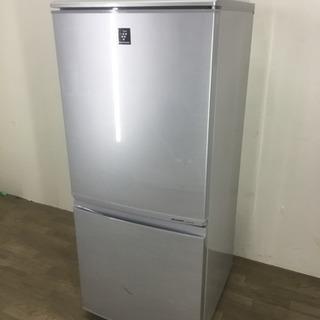 083199 ☆2ドア冷蔵庫 SHARP プラズマークラスター 1...