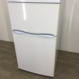 083208 ☆2ドア冷蔵庫 小さめ アスコジャパン 88L☆